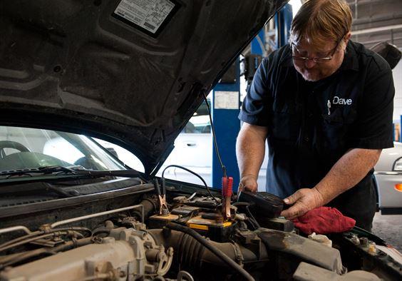 Car Battery Fixing