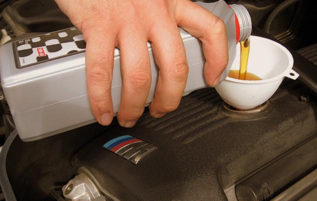 car engine oil leak